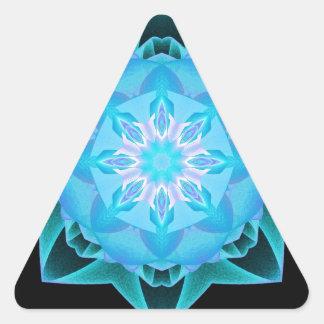 Stardust F4 azul claro Pegatina Triangular