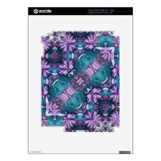 Stardust Floral Geometric iPad 2 Decals