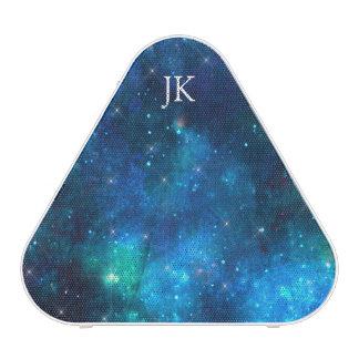 Stardust Galaxy Constellation Blue Speaker