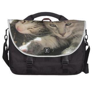 Stardust Kittens Laptop Messenger Bag