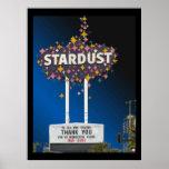 Stardust Las Vegas Vector Graphic Poster #14