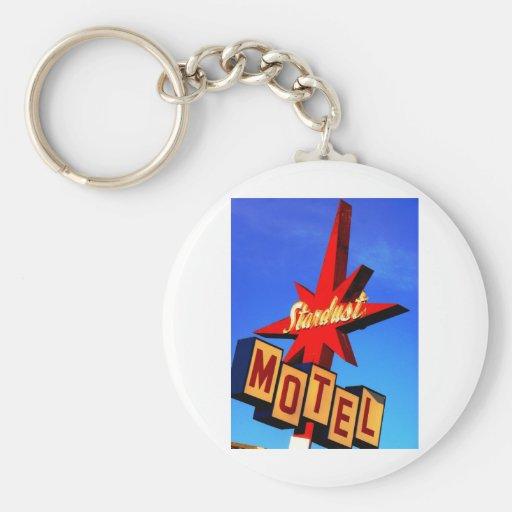 Stardust Motel Key Chains