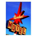 Stardust Motel Post Card