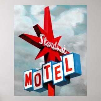 Stardust Motel Sign