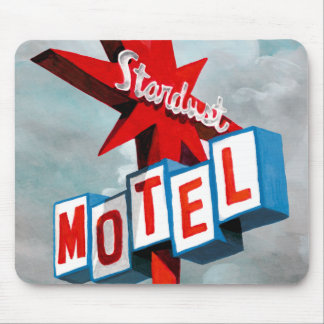 Stardust Motel Sign Mouse Pad