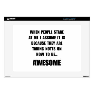 Stare Awesome Decals For Laptops