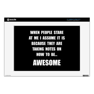 Stare Awesome Skin For Laptop