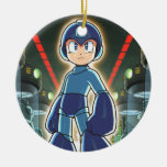 Stare Down Double-Sided Ceramic Round Christmas Ornament