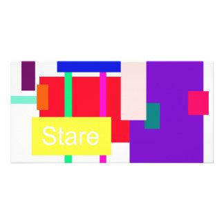 Stare Photo Card