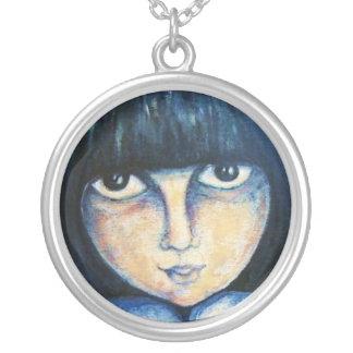 Stare - Silver Necklace
