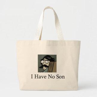 Staredad I Have No Son Canvas Bags
