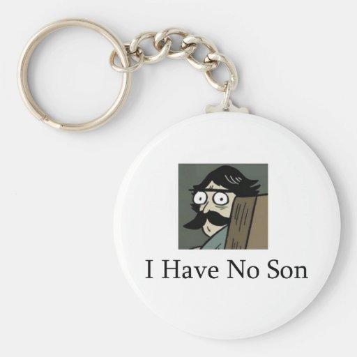 Staredad: No tengo ningún hijo Llavero Redondo Tipo Pin