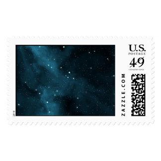 Starfield 1 postage stamp