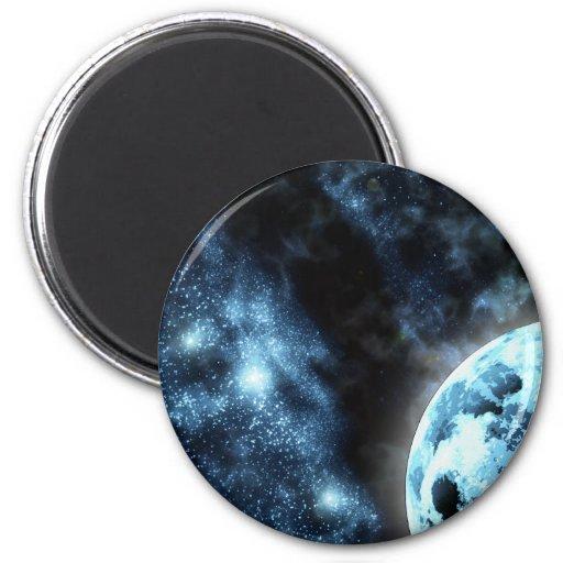 Starfield 2 Inch Round Magnet