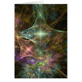 """""""Starfield"""" amazing fractal image Card"""