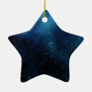 Starfield Christmas Star decoration Ceramic Ornament