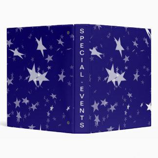 Starfield dinámico: Estrellas del blanco en fondo
