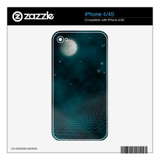 Starfield Skin For The iPhone 4S