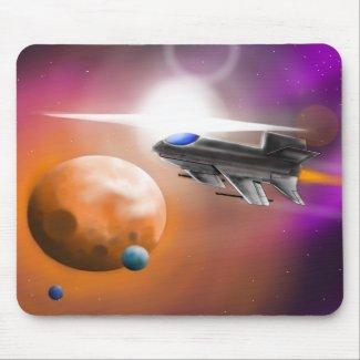 Starfighter Mousepad