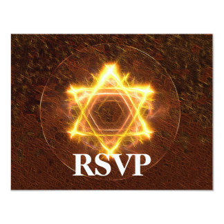 Starfire Bar/Bat Mitzvah RSVP Card