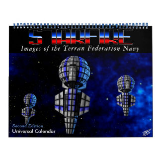 Starfire Calendar: Terran Federation Navy, 2nd Ed Calendar