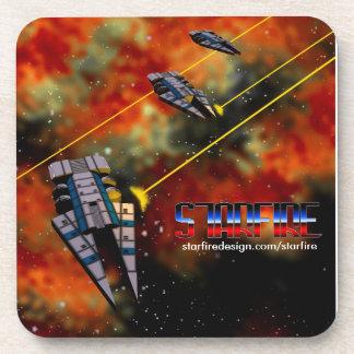 Starfire Coaster 6-pack: KON Destroyers in Battle