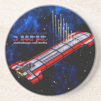 Starfire Coaster: TFN Crusier Strike! Drink Coaster