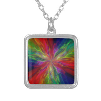 Starfire Silver Plated Necklace