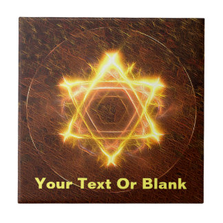 Starfire Star Of David Tile