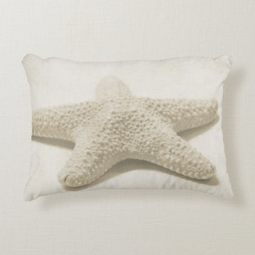 Beach Themed Starfish Accent Pillow