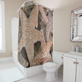 Starfish All Around Shower Curtain