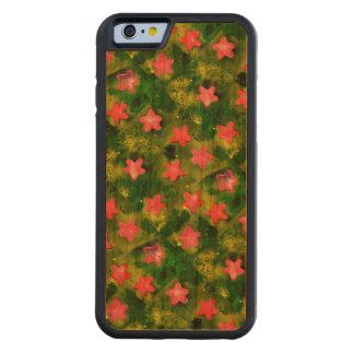 STARFISH! (an aquatic life art design) ~ Carved Cherry iPhone 6 Bumper Case