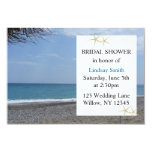Starfish and Ocean Bridal Shower Personalized Announcements