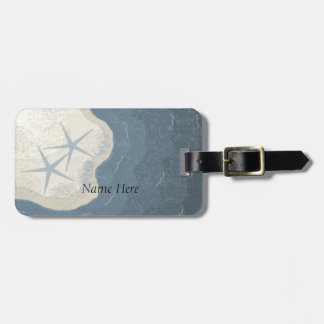 Starfish and Ocean Tags For Bags