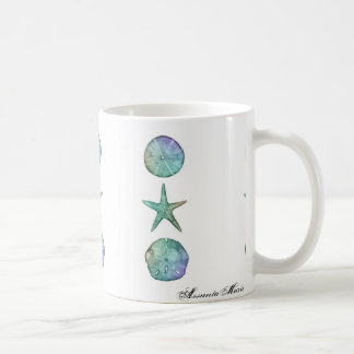 Starfish and Sand dollar Mug
