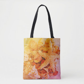Starfish and Sea Shells 2 - Tote Bag