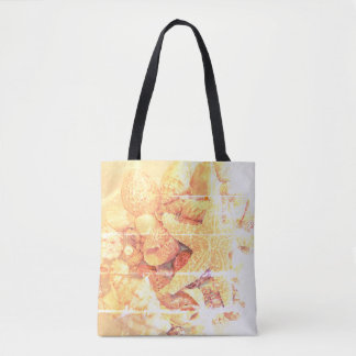 Starfish and Sea Shells - Tote Bag
