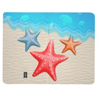 Starfish And Seashells Journal