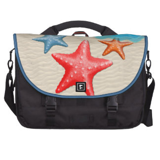 Starfish And Seashells Laptop Computer Bag