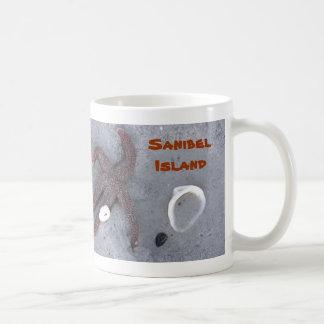 Starfish and Shell Florida Mug