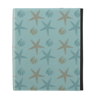 Starfish and Shells iPad Case