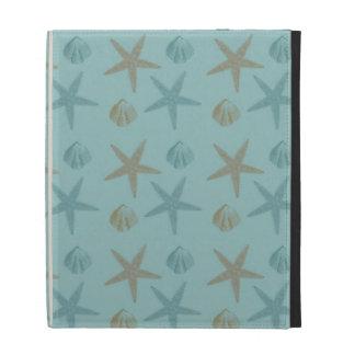 Starfish and Shells iPad Folio Cases