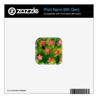 STARFISH (aquatic life art) ~ Decals For The iPod Nano