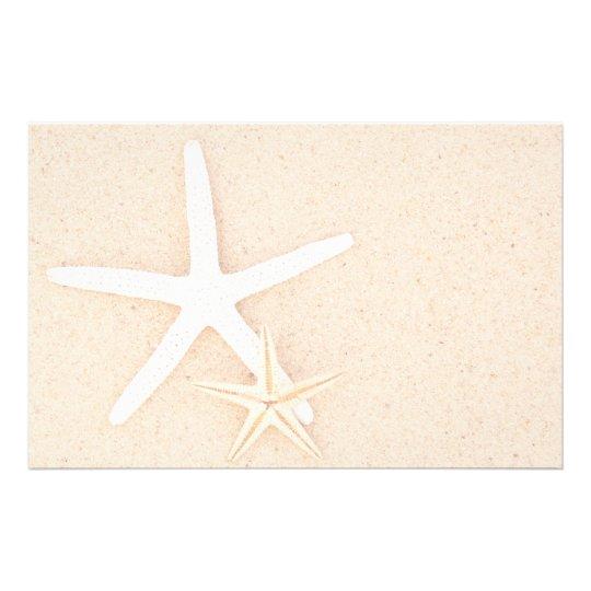 Starfish at the Beach Stationery