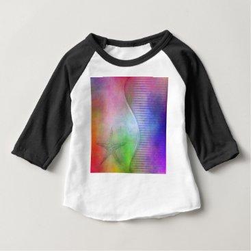 Beach Themed starfish baby T-Shirt