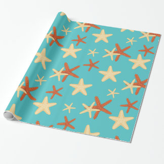 Starfish background pattern - Wrapping Paper