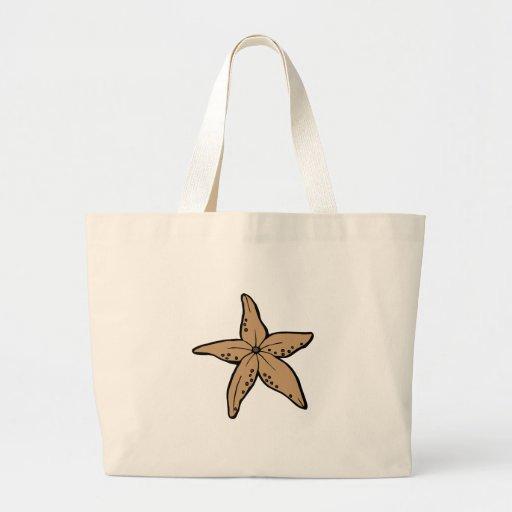 Starfish Canvas Bags