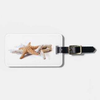 starfish bag tag