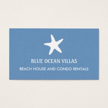 Professional Business Starfish Beach Business Card