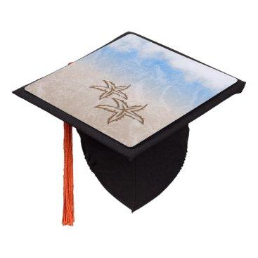 Beach Themed Starfish Beach Graduation Cap Topper